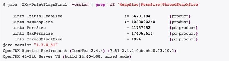 Узнать размер Java Heap Memory Size в Ubuntu