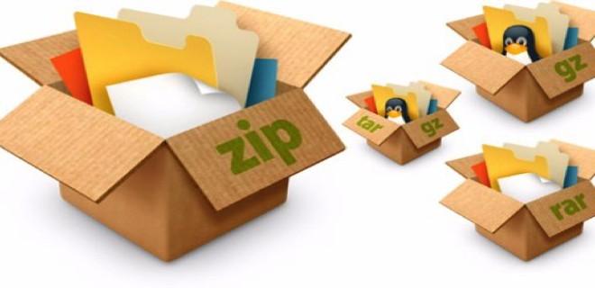 Распаковка [tar|gz|tgz|bz2|tbz2|zip|gz|rar|Z|7z] архивов в